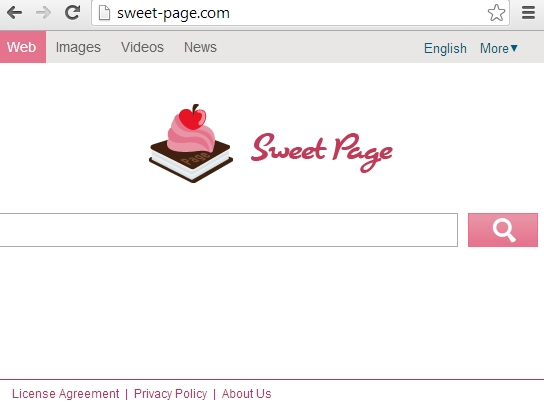 sweet page.com How to remove sweet page.com from your browser