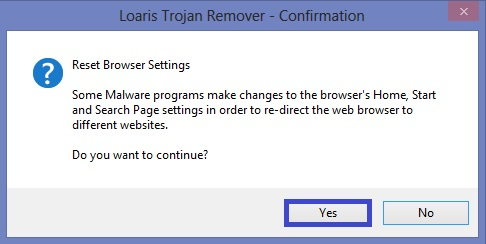 tools reset browser settings loaris confirmed How to remove sweet page.com from your browser